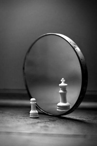 chess reflection Qeen